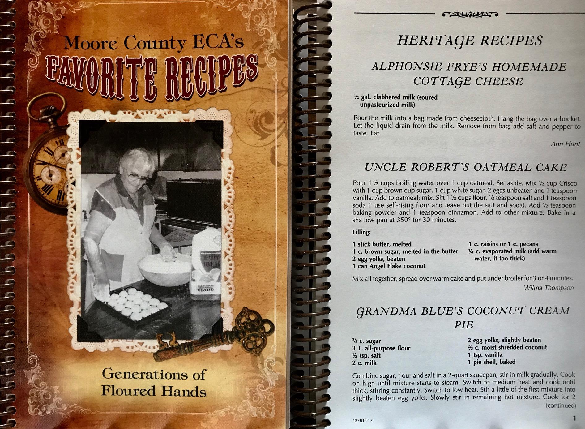 Moore County ECA Cookbook