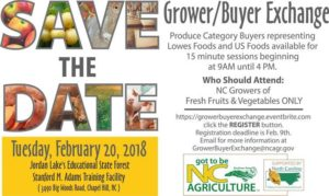 Cover photo for Lowes Foods & US Foods Growers / Buyers Exchange