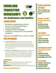 Cover photo for Farm Transition Workshops