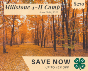 Millstone 4-H Camp - Save Now