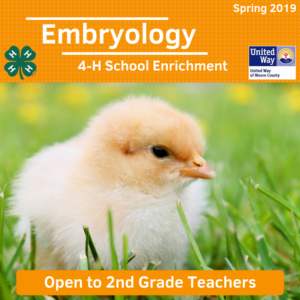 Cover photo for Embryology Program Available to Moore County Educators