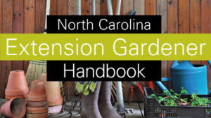 Cover photo for NC Extension Gardener Handbook Is 40% Off During UNC Press Sale